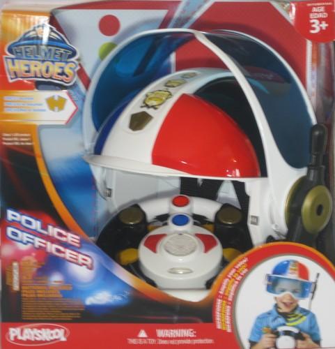 Playskool police adventure squad helmet heroes - Playskool helmet heroes police officer ...