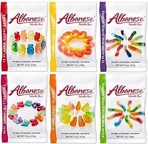 Amazon.com : Albanese World's Best Gummi Candy Assorted ...