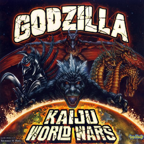 Picture of Toy Vault Godzilla Kaiju World Wars Figure (B004N9CXMC) (Toy Vault Action Figures)