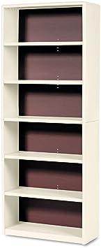 Safco Products 7174SA ValueMate Economy Bookcase, 6-Shelf, Sand