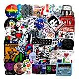 102pcs Funny Science Chemistry Lab Apparatus Stickers Vinyl Phone Laptop Water Bottle Motorcycle Bicycle Luggage Guitar Skateboard Sticker Decal (Color: Science Lab)