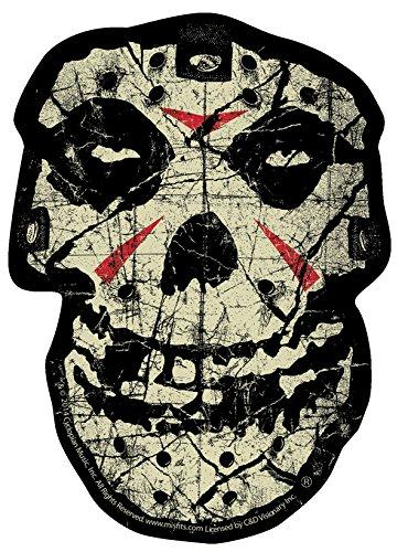 C&D Visionary Misfits Crystal Lake Skull Sticker