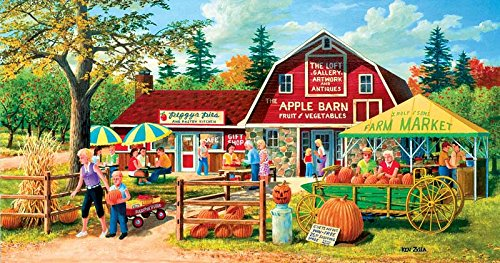 Harvest Market a 500-Piece Jigsaw Puzzle by Sunsout Inc.