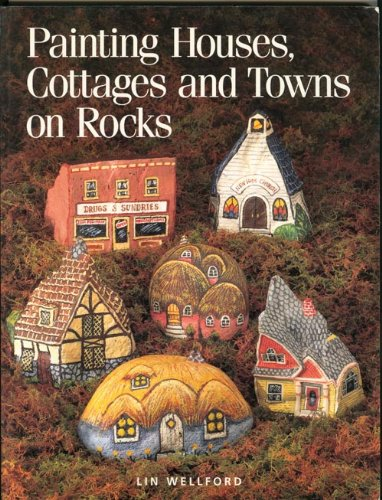 Painting Houses, Cottages and Towns on Rocks (Painted Rocks compare prices)