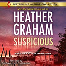 Suspicious: The Sheriff of Shelter Valley (       UNABRIDGED) by Heather Graham, Tara Taylor Quinn Narrated by Erin Bennett, Chris Dukehart