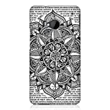 Head Case Designs Paper Mandala Doodles Protective Snap-On Hard Back Cover Case for HTC One