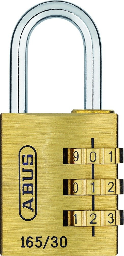ABUS 20131 Messing Zahlenschloss 165/30SB