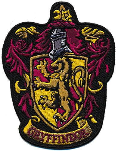 Patch Squad Men's Harry Potter GRYFFINDOR/ Ravenclan Embroidered Patch (Gryffindor2) (Harry Potter Iron On compare prices)