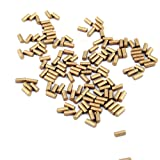 CooBigo (2.25mm) 60g/Pack(Approx450~500pcs) Ferrocerium Lighter Flint Stone for Petrol or Gas Lighters Accessories #FLQ178-B/G (Golden) (Color: Golden, Tamaño: 1/2