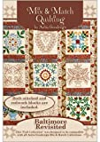 613xaDxU7DL. SL160  Anita Goodesign   Baltimore Revisited ~ Mix and Match Quilting ~ Embroidery Designs