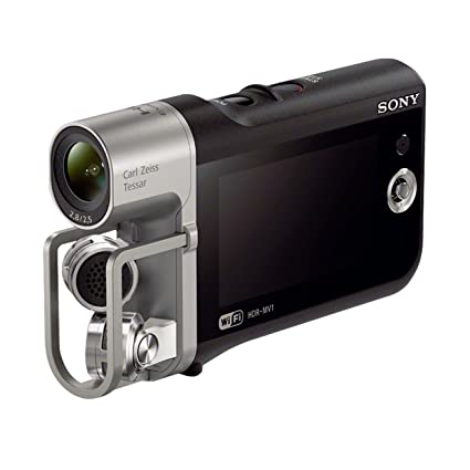 "Sony HDR-MV1B.CEE Music Cam Caméscope musical 2,7"" (6,7 cm) Full HD 16 Mpix Noir"
