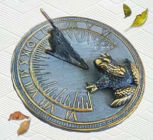 Amazon.com : Decorative Brass Frog Sundial