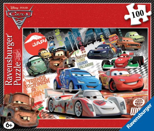 Ravensburger Disney Cars 2 Compact Puzzle (100 Pieces)