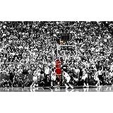 Michael Jordan (38inch x 24inch / 96cm x 60cm) Silk Print Poster - Soie Affiche - 0DC11C