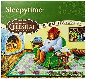 Celestial Seasonings Herb Tea, Sleepytime, 40-Count Tea Bags (Pack of 6)