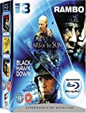 echange, troc Rambo/Tears Of The Sun/Black Hawk Down [Blu-ray]