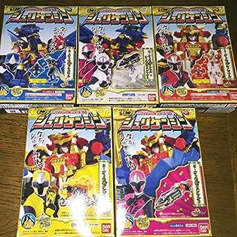 【クリックでお店のこの商品のページへ】Amazon.co.jp | 食玩 手裏剣戦隊ニンニンジャー ミニプラ シュリケンジン 全5種セット | ホビー 通販