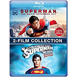Superman The Movie: Extended Cut & Special Edition (2-Film Collection) [Blu-ray]