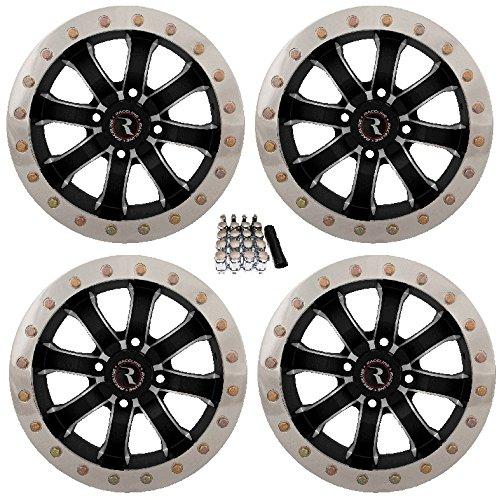Raceline Mamba Beadlock ATV Wheels/Rims Machined 15