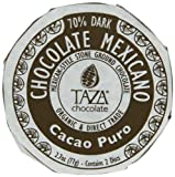 Taza Chocolate Mexicano Chocolate Disc, Cacao Puro, 2.7 Ounce