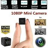 Mini Micro HD Hidden Camera Video Night Vision 1080P Camcorder Motion Sensor WiFi Remote Monitoring (1080P) (Tamaño: 1080P)
