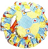 momspet circle shape rai pillow (mustard seeds)