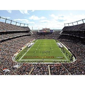 Denver Broncos NFL Artissimo Stadium 22x32 Canvas Art by Artissimo