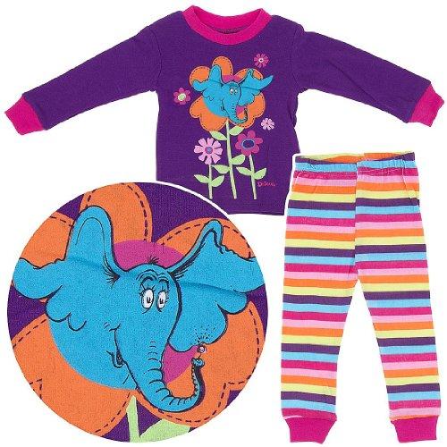 """Dr. Seuss """"Horton"""" Purple Infant Pajamas (24M) front-884123"""