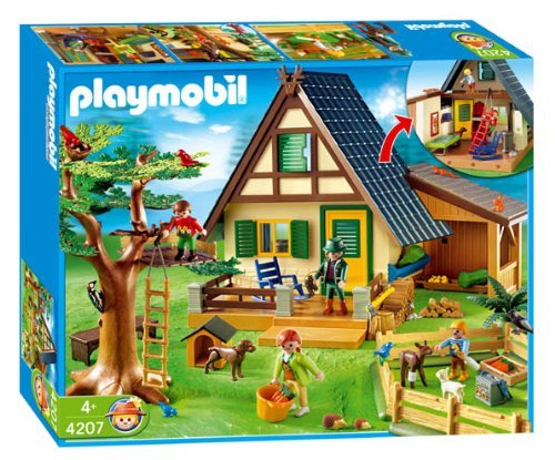 Playmobil - 4207 Forest Lodge