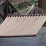 Prime Garden Two Point Tight Weave Caribbean Hammock -Tan