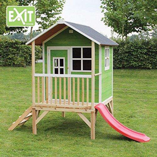 Exit Spielhaus Loft 300 mit Rutsche
