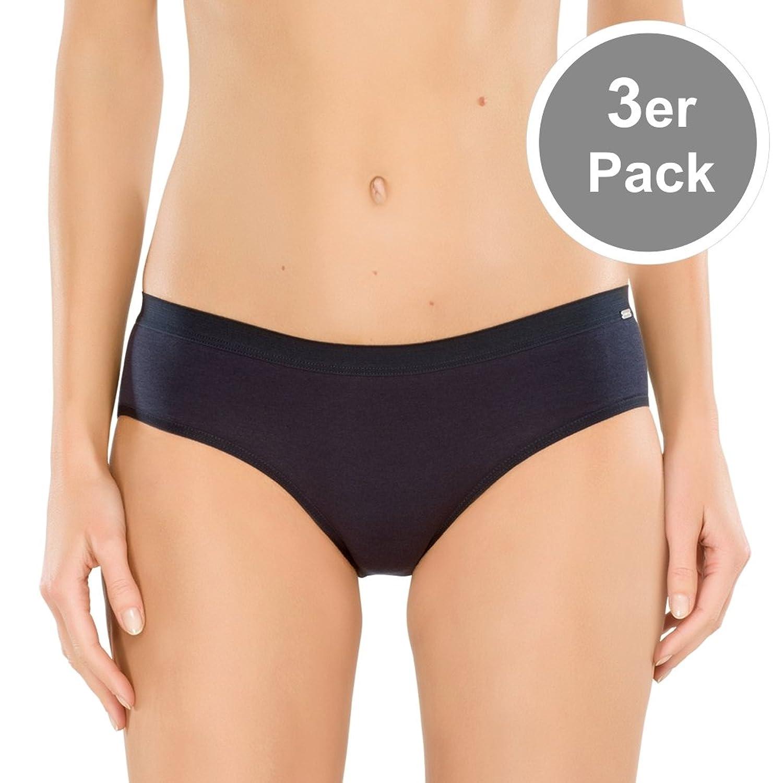 Schiesser Damen Naturschönheit Hipster / Slip – 144102 – 3er Spar-Pack günstig bestellen