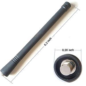 bestkong 10 X VHF Antenna for Motorola NAD6502A HT750 HT1250 CP200 CP200XLS PR400 P100 P110 P200 P210 P1225 SP10 SP21 SP50 P10