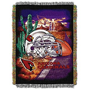 Amazon Com Nfl Arizona Cardinals Acrylic Tapestry Throw