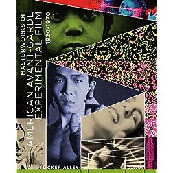 Masterworks of American Avant-garde Experimental Film 1920-1970 [Blu-ray]