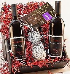 Ravishing Reds Wine Gift Set, 2 x 750 mL from Naked Winery