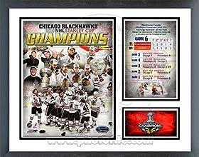 Chicago Blackhawks 2010 Stanley Cup Champion Milestones amp Memories Framed Photo by Biggsports