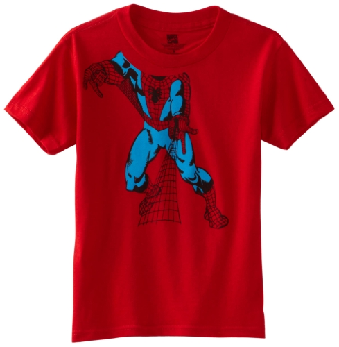 Marvel Big Boys' Spider-Man Headless Short-Sleeve T-Shirt