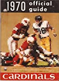 St Louis Cardinals Nfl 1970 Team Media Guide Beautiful Condition Rare Vintage at Amazon.com