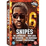 Snipes Six Pack Collection (7 Seconds/Unstoppable/The Marksman/The Contractor/The Detonator/Hard Luck) [DVD] [2008]by Snipes Six Pack...