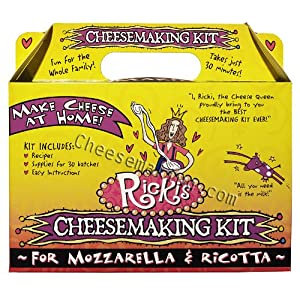 Mozzarella and Ricotta Cheese Making Kit