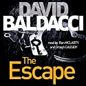 The Escape: Book 3 Audiobook by David Baldacci Narrated by Ron McLarty, Orlagh Cassidy