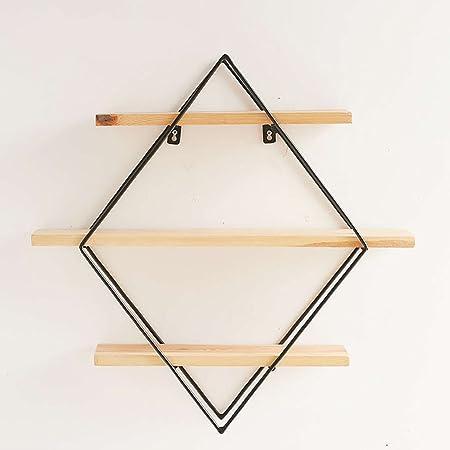 FGSGJ Scaffali creativi del metallo nordico del metallo fatti di vecchio retro bar Scaffale di mensola della stanza di vita ( dimensioni : 100*22*80cm )