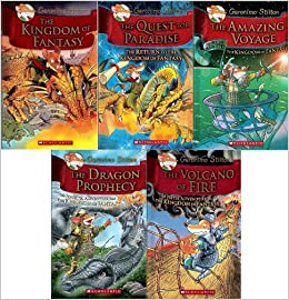 Voyage / The Dragon Prophecy / The Volcano of Fire: Geronimo Stilton