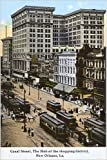 Photographic Print of Canal Street, New Orleans, Louisiana, USA