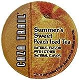 Caza Trail Summers Single Serve, Sweet Peach Iced Tea, 24 Count