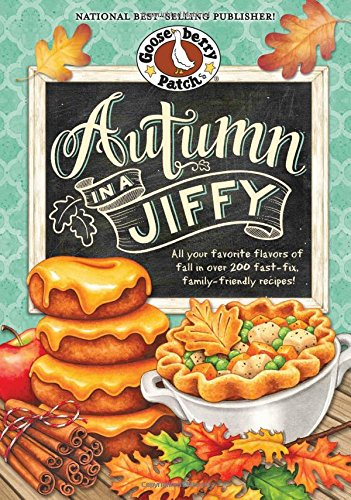 Autumn in a Jiffy Cookbook: All Your Favorite Flavors of Fall in Over 200 Fast-Fix, Family-Friendly Recipes. (Seasonal Cookbook Collection) (Pizza Recipe Cards compare prices)