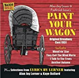 Alan Jay Lerner Paint Your Wagon