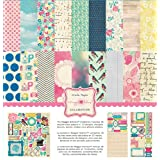 Crate Paper Maggie Holmes Scrapbook Collection Pack