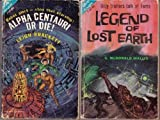 img - for Legend of Lost Earth / Alpha Centauri or Die! (Vintage Ace Double, F-187) book / textbook / text book
